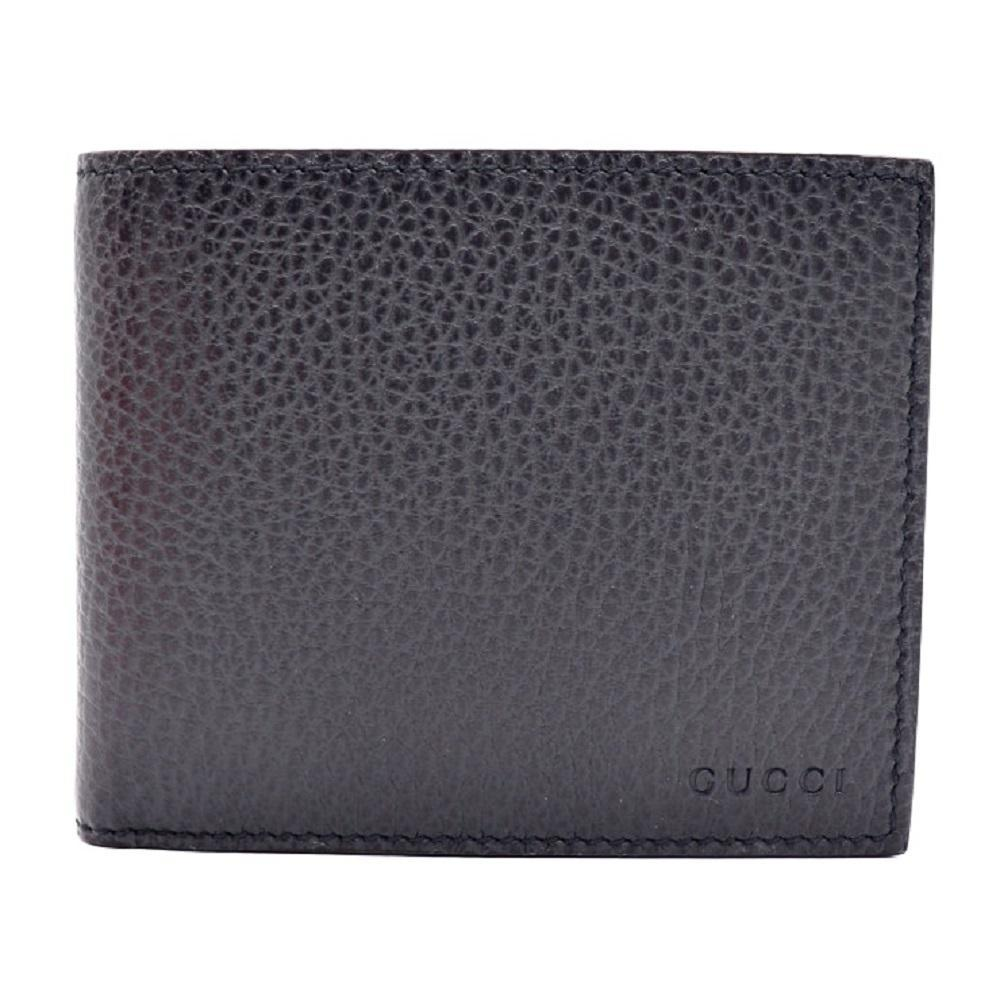 Gucci Mens Black Nero Cadon Dollar Calf Leather Wallet 260987 at_Queen_Bee_of_Beverly_Hills