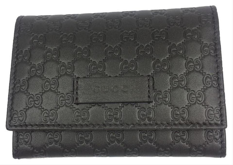 Gucci Mens Microguccissima T. Moro Brown  Soft Leather Card Holder with Flap 544030 at_Queen_Bee_of_Beverly_Hills
