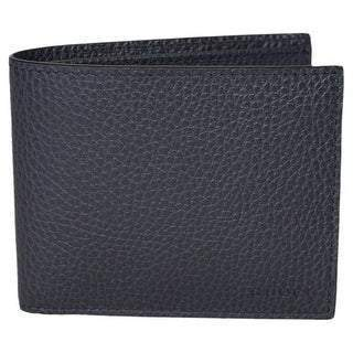 Gucci Mens Navy Blue Bifold Cadon Dollar Calf Leather Wallet 260987 at_Queen_Bee_of_Beverly_Hills
