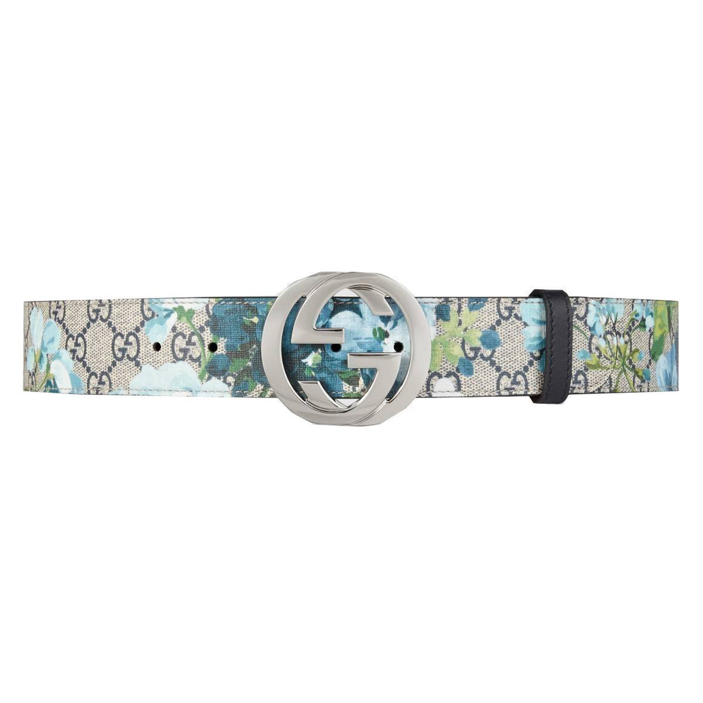 Gucci Women's Blooms GG Belt 411924 Size: 115/46 at_Queen_Bee_of_Beverly_Hills