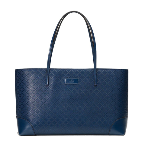 Gucci Women's Classic Diamante Hilary Lux Blue Tote Shoulder Bag 353397 at_Queen_Bee_of_Beverly_Hills