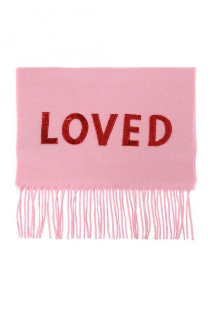 Gucci Women's Love Pink Cashmere Scarf 481318 at_Queen_Bee_of_Beverly_Hills
