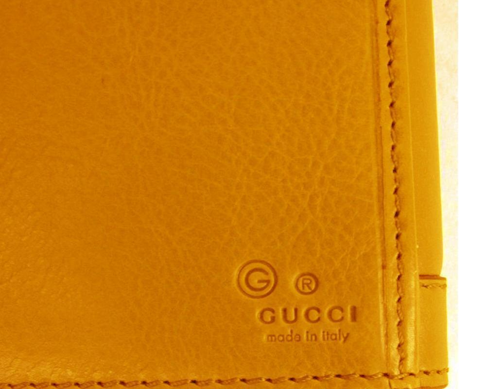 Gucci Women's Marigold Leather Continental Flap Wallet Large 231839 at_Queen_Bee_of_Beverly_Hills