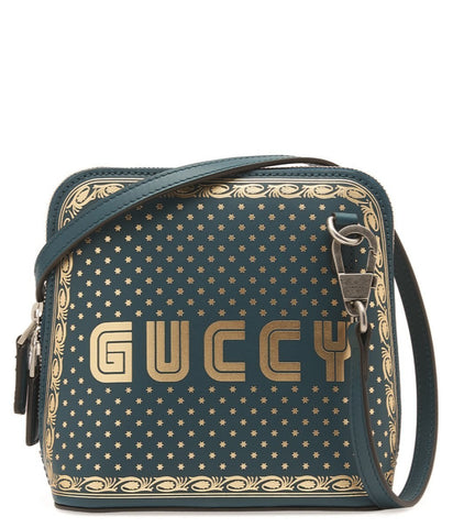 Gucci Womens Moon Corn Stars GUCCY Small Leather Crossbody Turquoise 511189 at_Queen_Bee_of_Beverly_Hills