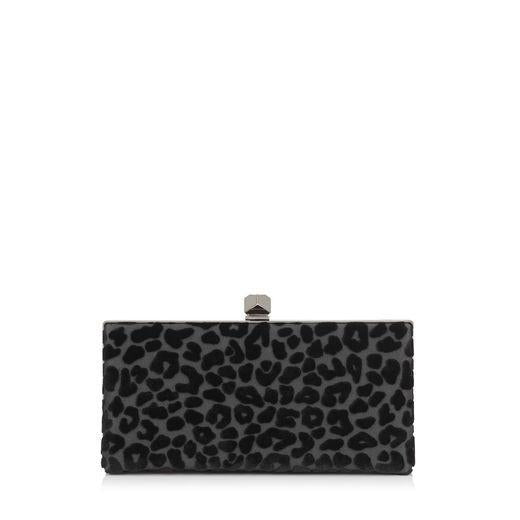 Jimmy Choo Celeste DEU | 010003 Black Devore Velvet Leopard J000094575001 at_Queen_Bee_of_Beverly_Hills