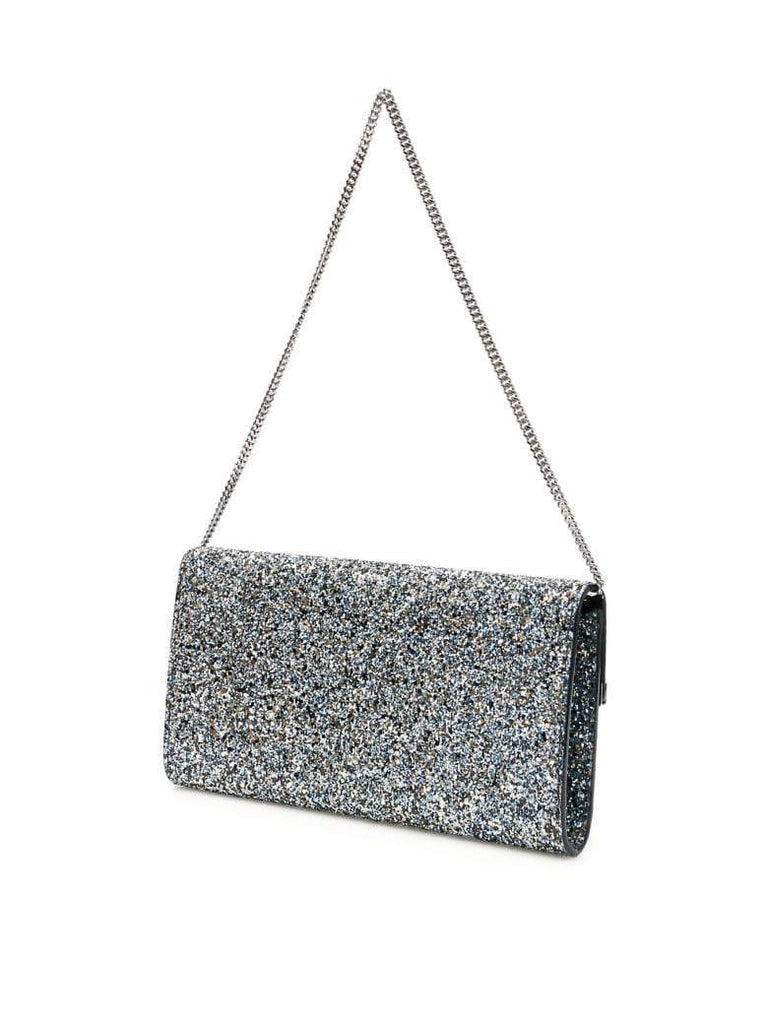 Jimmy Choo Erica Shaded Fine Multi Glitter Fabric Handbag DIR/000064 at_Queen_Bee_of_Beverly_Hills