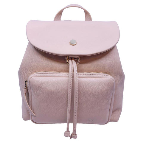 Jimmy Choo Suki Powder Pink Grainy Leather Backpack OGLT/028 at_Queen_Bee_of_Beverly_Hills