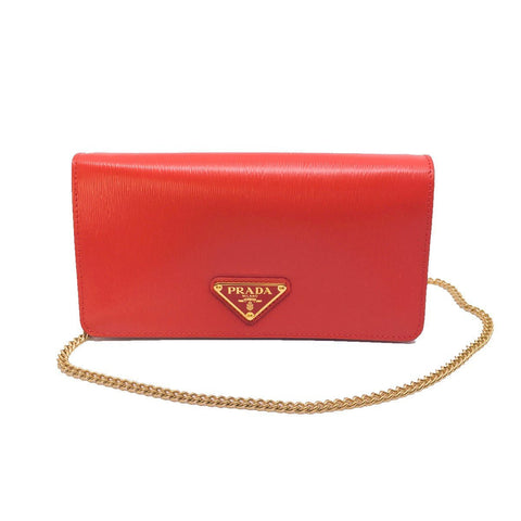 Prada Bandoliera Mini Crossbody Leather Lacca Red Triangle Logo1DH044 at_Queen_Bee_of_Beverly_Hills