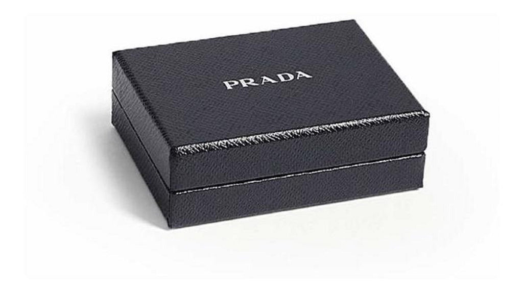 Prada Trick Pelle Saffiano Rings Nero Leather Key Chain Strap at_Queen_Bee_of_Beverly_Hills