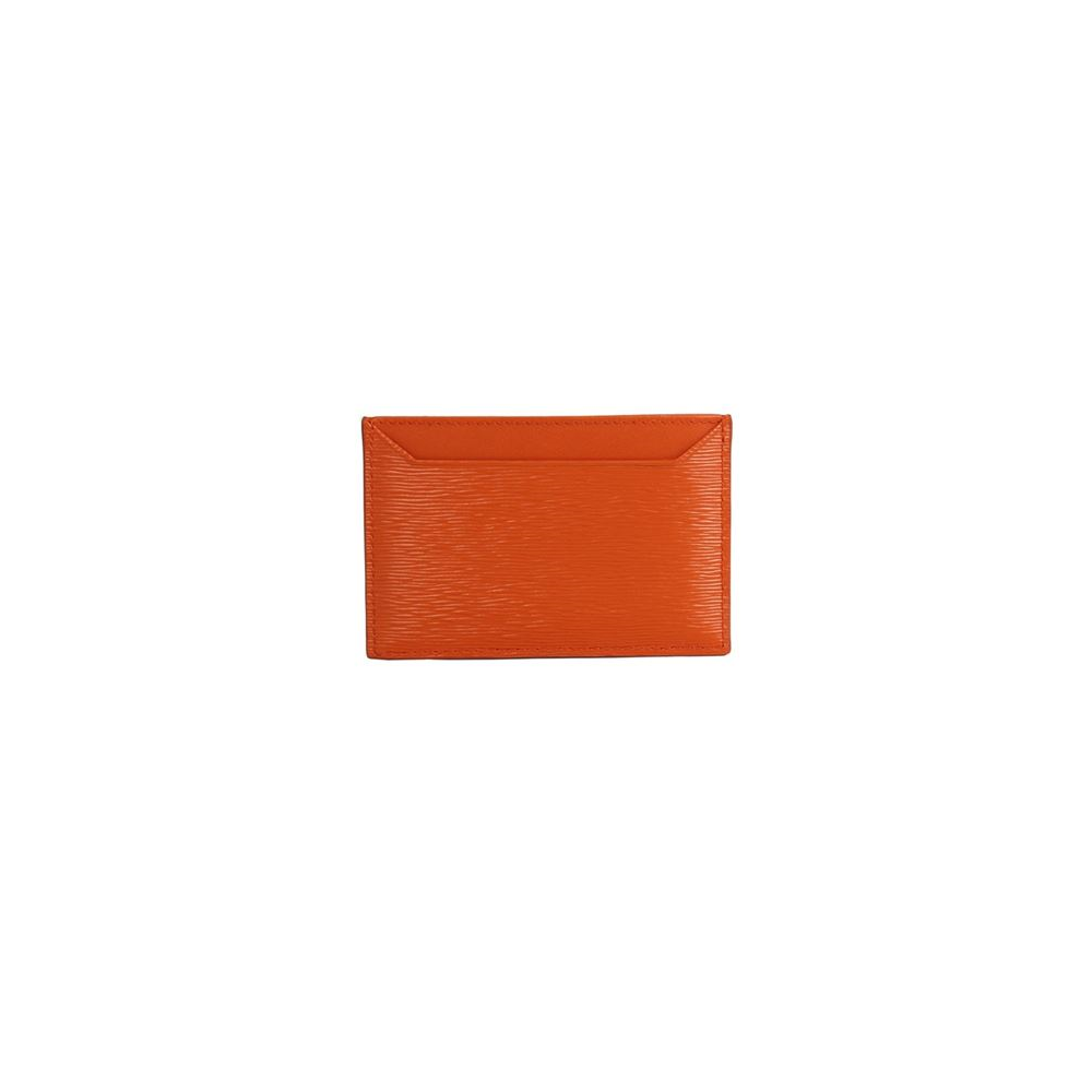 Prada Vitello Move Papaya Orange Credit Card Wallet 1MC208 at_Queen_Bee_of_Beverly_Hills