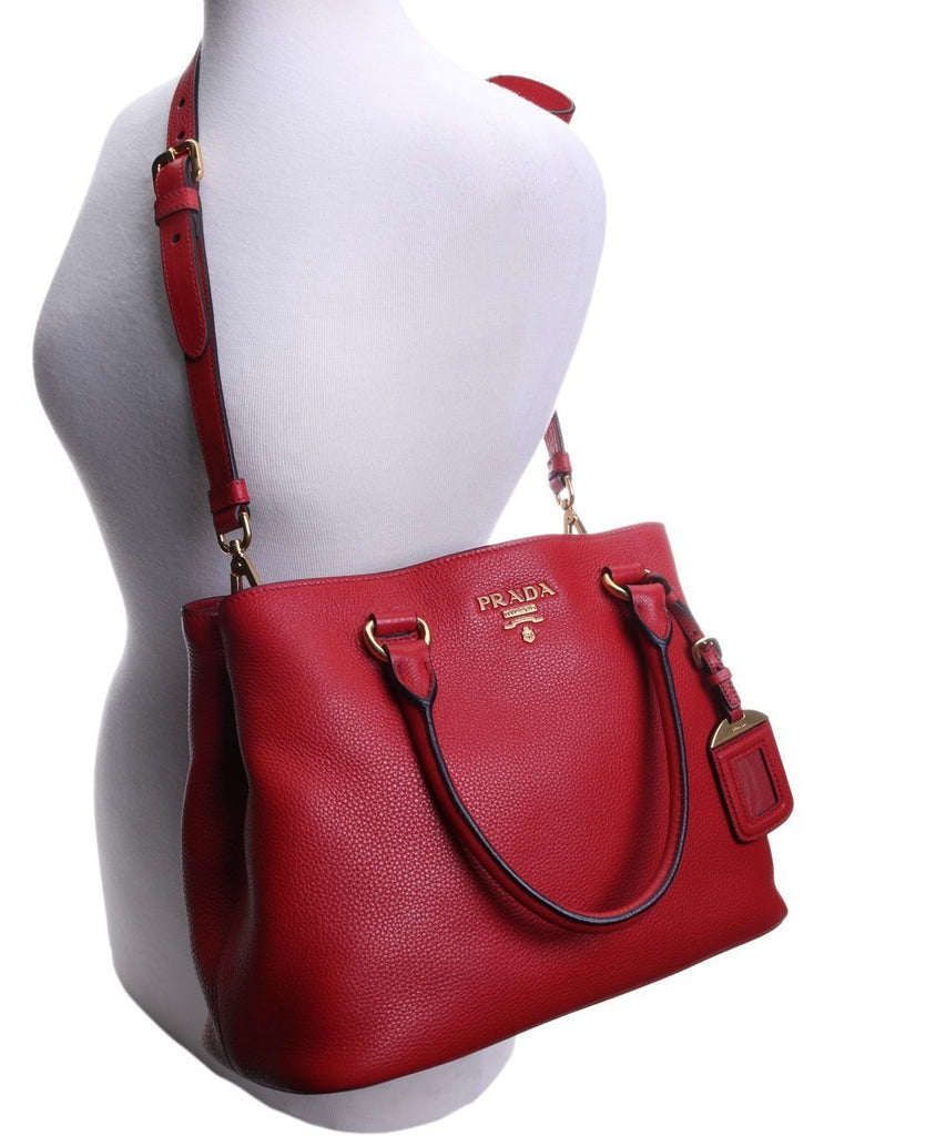 Prada Vitello Phenix Convertible Open Bag Rosso Red 1BA058 at_Queen_Bee_of_Beverly_Hills
