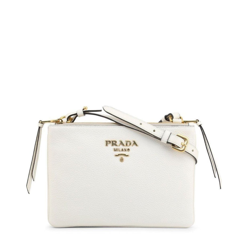 Prada White Leather Vitello Phenix Crossbody Bag 1BH046 at_Queen_Bee_of_Beverly_Hills