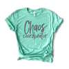 Chaos Coordinator Tee- The Original (Heather Mint)