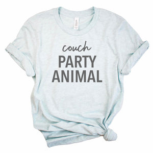 Couch Party Animal Tee