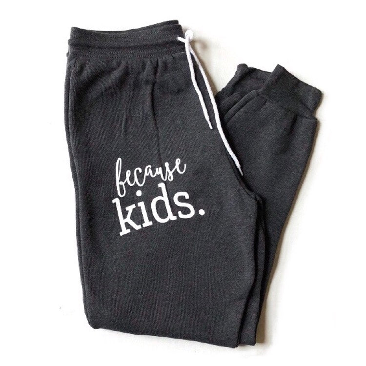 Because Kids™ Joggers