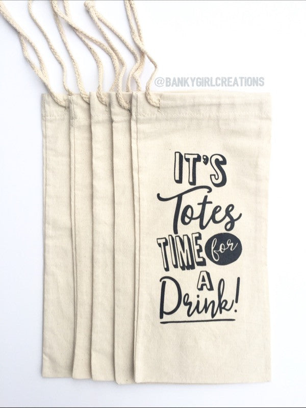 It's Totes Time for a Drink Tote