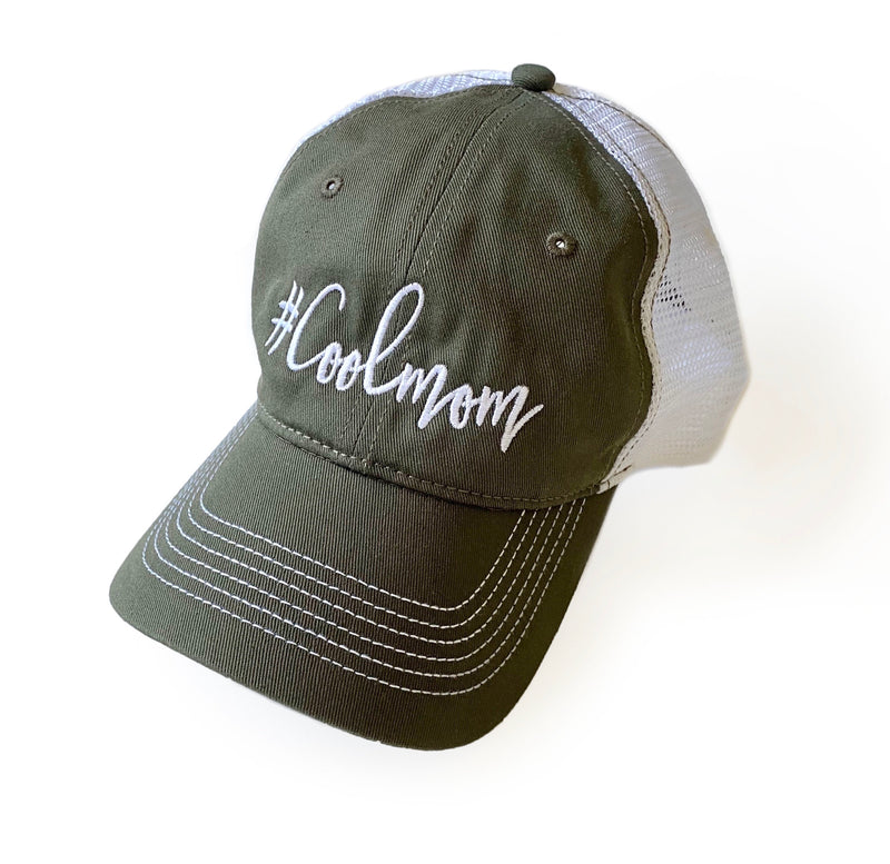#Coolmom Mesh Back Hat