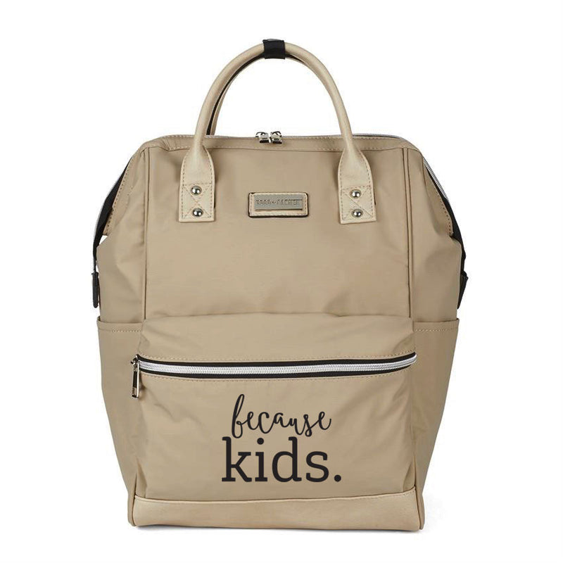 Because Kids Backpack - Tan
