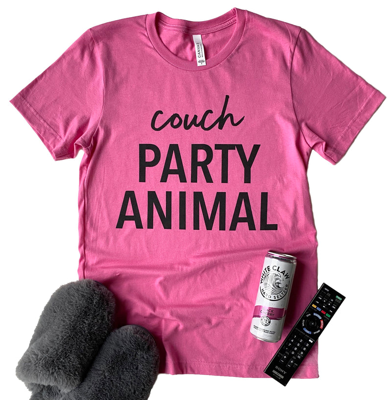 Couch Party Animal T-shirt