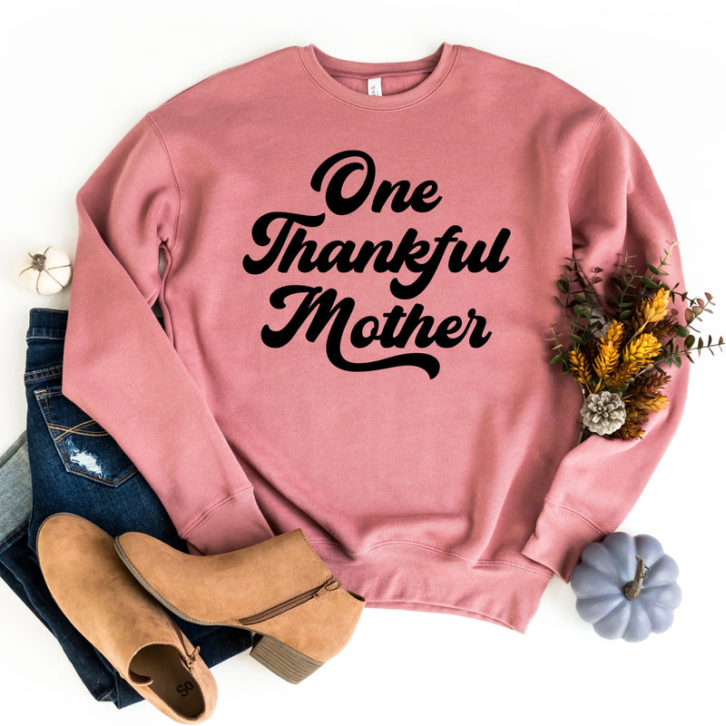 One Thankful Mother Pullover - Mauve