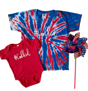 #Coolkid Onesie and Tee - Red