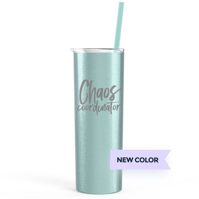 Chaos Coordinator 20 oz Stainless Steel Tumbler - Sea Scape