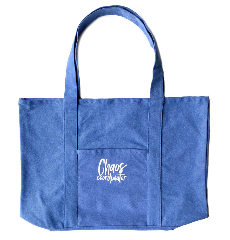 Chaos Coordinator Tote - Periwinkle Blue