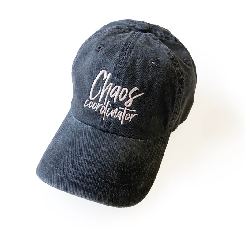 Chaos Coordinator Hat - Faded Black