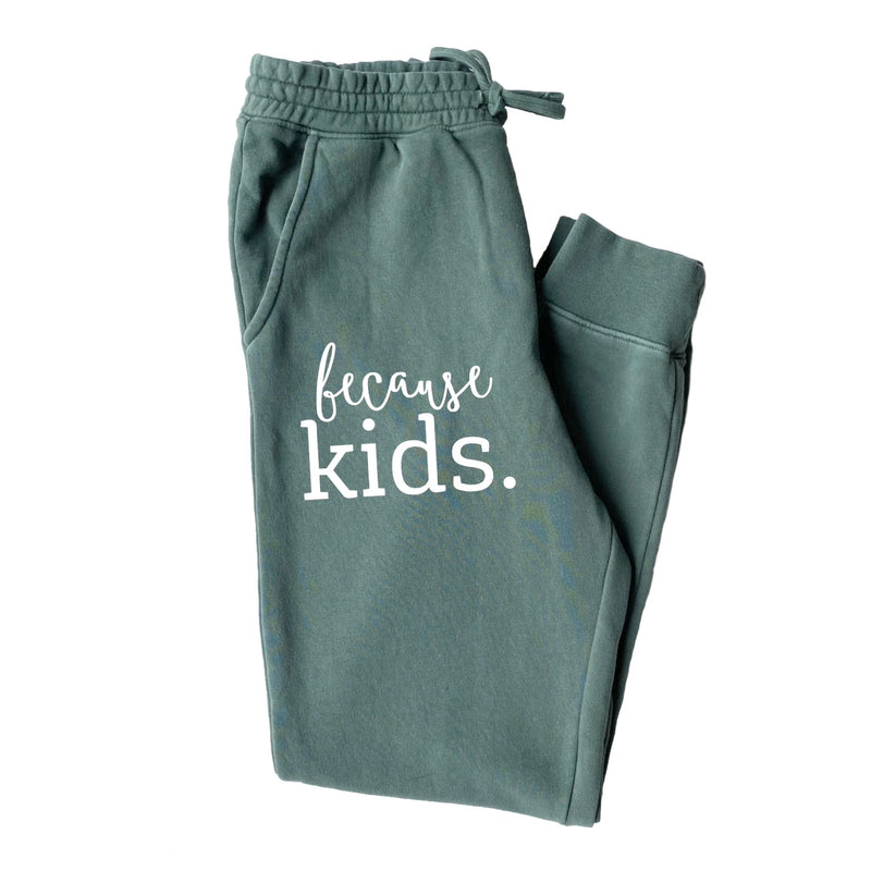 Because Kids™ Joggers - Alpine Green