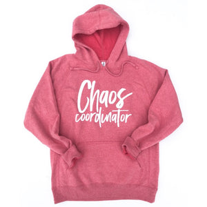 Chaos Coordinator Hoodie - Pomegranate