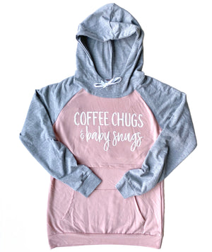 Coffee Chugs & Baby Snugs Nursing Hoodie