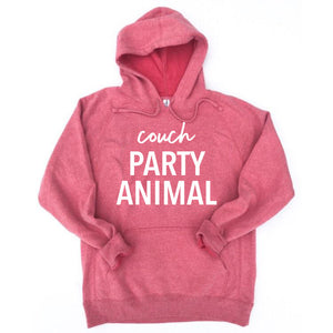 Couch Party Animal Hoodie