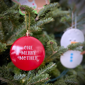 One Merry Mother Christmas Ornament
