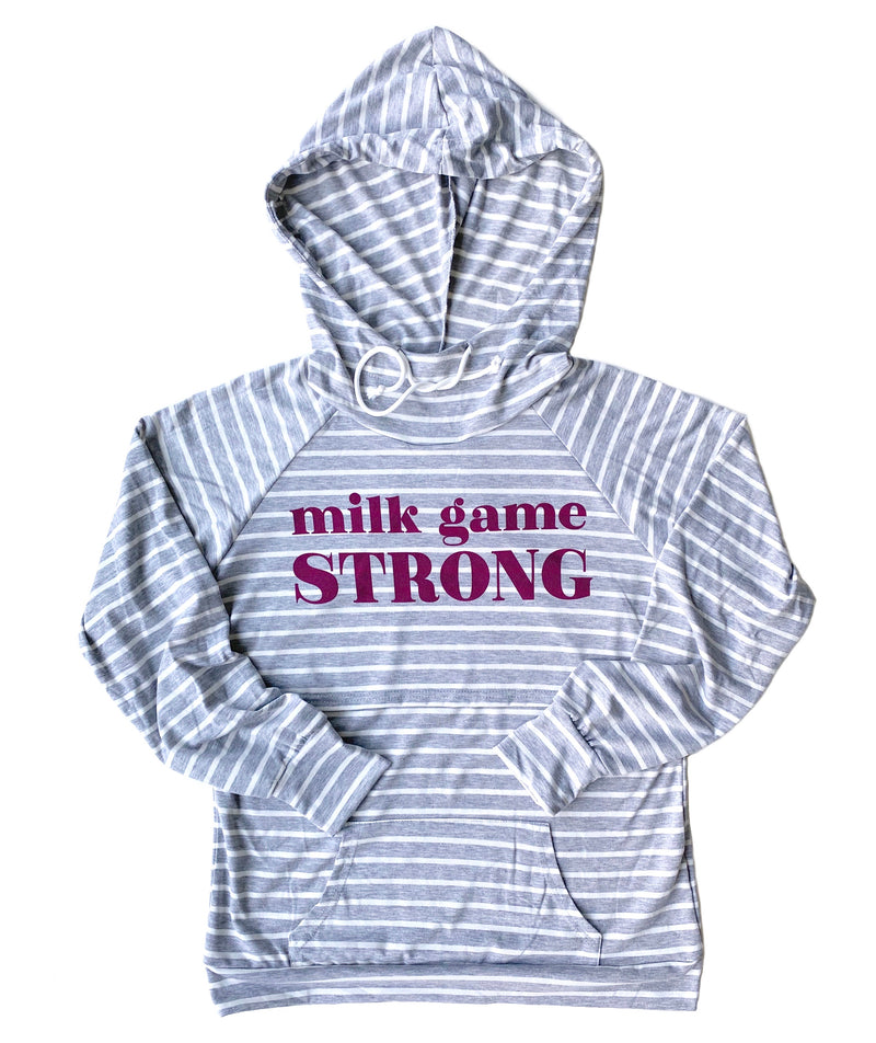 Milk Game Strong Nursing Hoodie