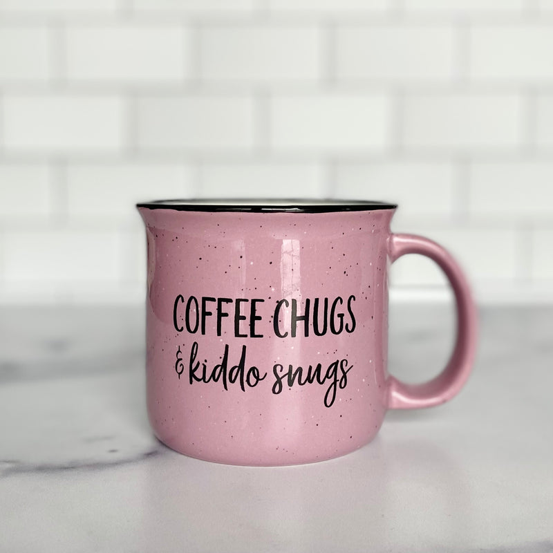 Coffee Chugs & Kiddo Snugs 15 oz Campfire Mug