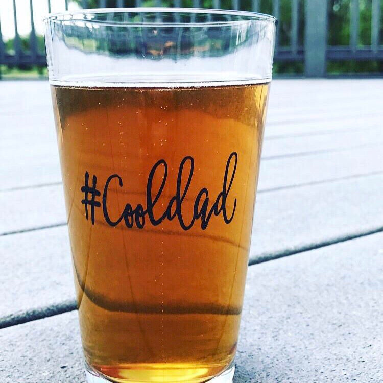 #Cooldad Pint Glass