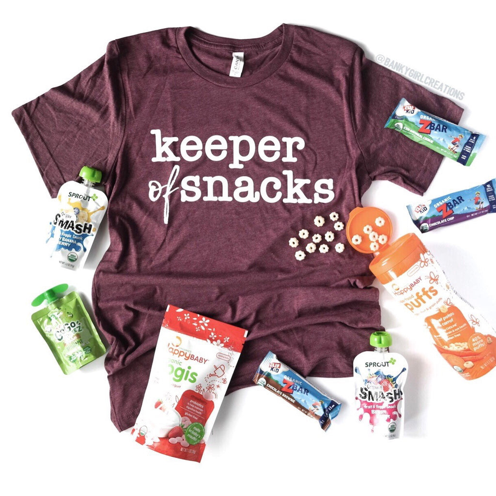 Keeper of Snacks Tee