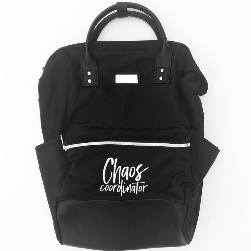 Chaos Coordinator Backpack - Black