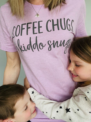 Coffee Chugs & Kiddo Snugs T-shirt