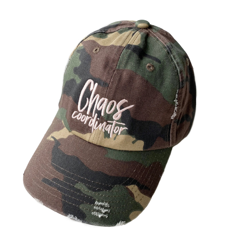 Chaos Coordinator Hat - Distressed Camo