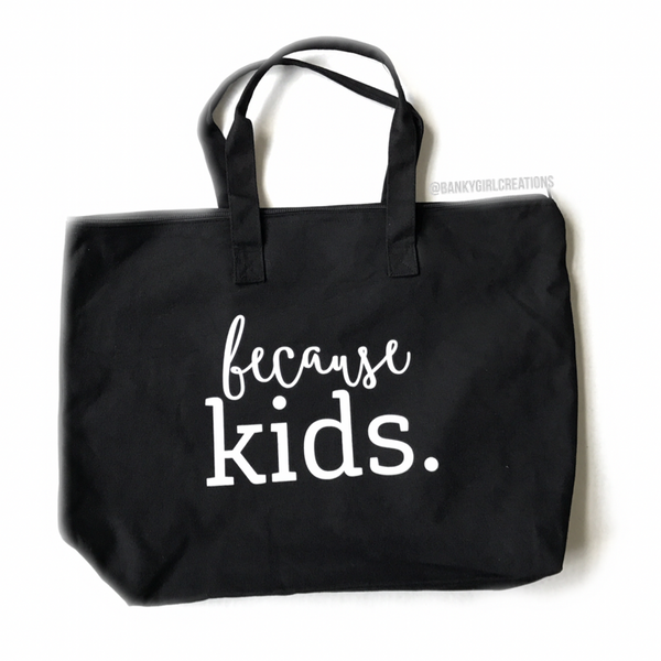 Because Kids Tote