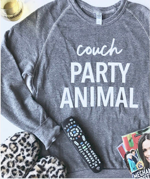 Couch Party Animal Pullover