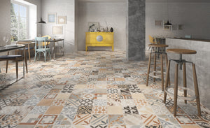 Patterned and vintage tiles