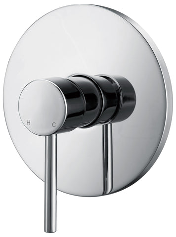 Capri series wall mixer - chrome - www.2degs.com.au