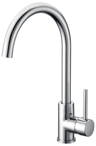 Capri series kitchen mixer - chrome - www.2degs.com.au