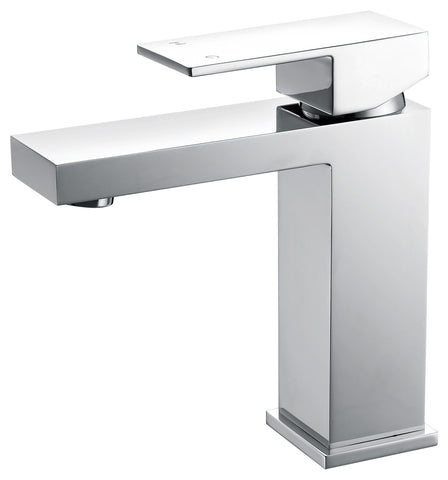 Tirso series basin mixer - chrome - short - www.2degs.com.au