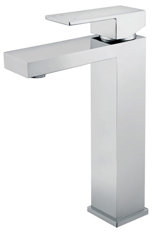 Tirso series basin mixer - chrome - tall - www.2degs.com.au
