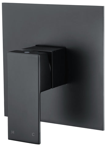Tirso series wall mixer - black - www.2degs.com.au