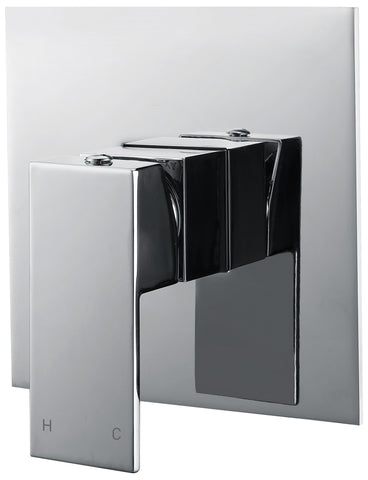 Tirso series wall mixer - chrome - www.2degs.com.au