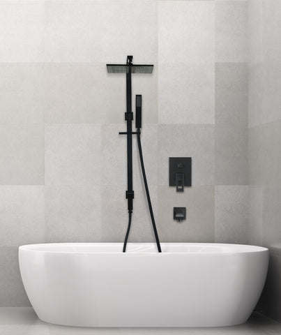 Tirso shower set - black - www.2degs.com.au